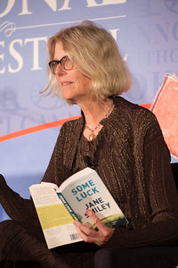 "Jane Smiley Pulitzer Prize-winning author Jane Smiley has written many critically acclaimed and popular novels, including ""The Age of God,"" ""The Greenlanders,"" ""Ordinary Love and Good Will,"" ""A Thousand Acres,"" ""Horse Heaven,"" ""Good Faith,"" ""The Georges and the Jewels"" and her latest book, ""Some Luck"" (Knopf). She has also written for The New Yorker, Horseman, Harper's, The Nation and other publications. In 2001 she was inducted into the American Academy of Arts and Letters and in 2006 she received the PEN USA Lifetime Achievement Award for Literature. Smiley was a fellow of the National Endowment for the Arts in 1978 and 1987."