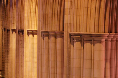 Cathedral Pillars in Various Light