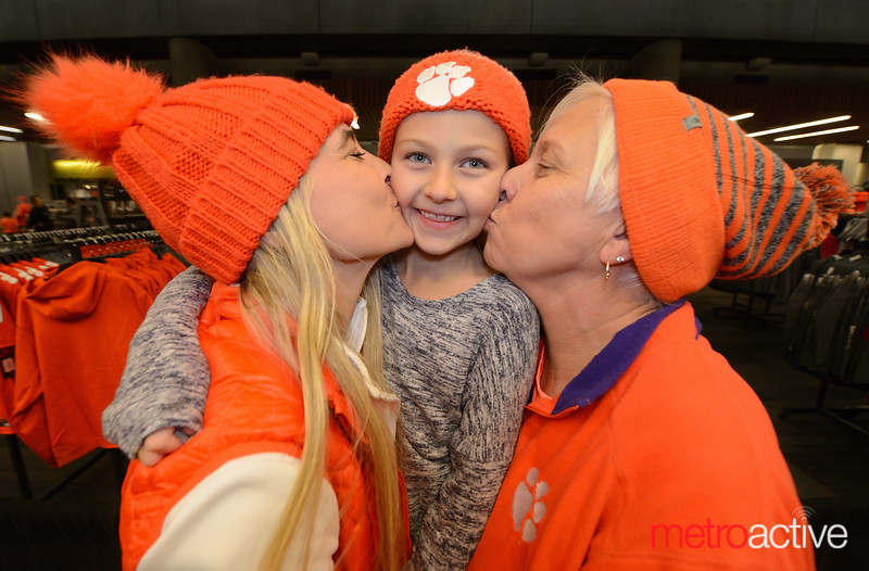 "(Three Generations of Clemson Fans - pictured)<br /> <br /> © Photo by Greg RaMar<br /> FACEBOOK <a href=""https://www.facebook.com/RamarDigitalLumierePhotography"">https://www.facebook.com/RamarDigitalLumierePhotography</a><br /> INSTAGRAM <a href=""https://www.instagram.com/ramar_lumiere_photography"">https://www.instagram.com/ramar_lumiere_photography</a>"