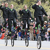 These aren't your grandmother's unicycles.