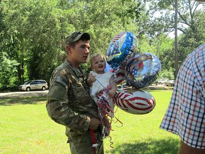 National Guard returns