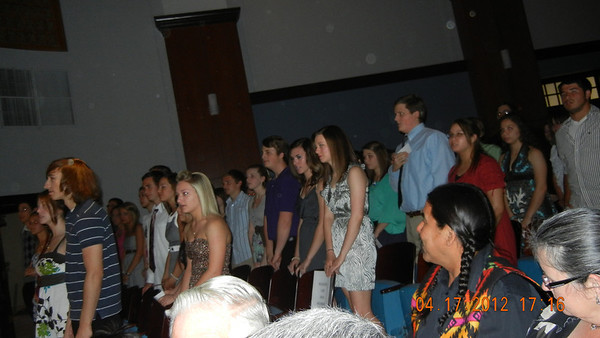 National Honor Society Induction 2012