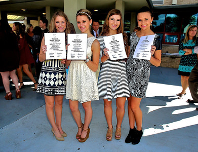 National Honor Society Induction 2013
