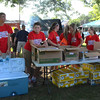 Diane Raver | The Herald-Tribune<br /> Mayors Youth Council members helped serve the food and drinks.