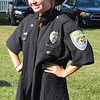 Diane Raver | The Herald-Tribune<br /> Isabelle Smith modeled the Batesville Police uniform.