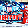 Debbie Blank | The Herald-Tribune<br /> When bad weather was in the forecast Aug. 6  (it didn't materialize), the Oldenburg National Night Out was moved from the church lawn to the covered shelter behind the firehouse at National Night Out behind the fire station. The event, held at different county locations each year, brings together community members and rescuers and was sponsored by Stayin' Alive, Franklin County's Local Coordinating Council, which works to lessen substance abuse, in partnership with the Franklin County Sheriff's Department and Oldenburg Police Department.