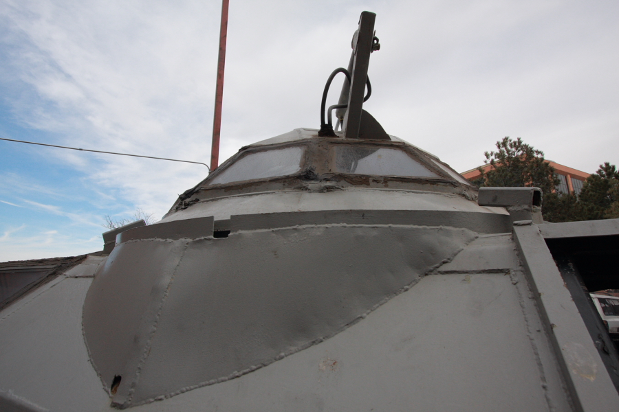 TIV's IMAX Camera turret.