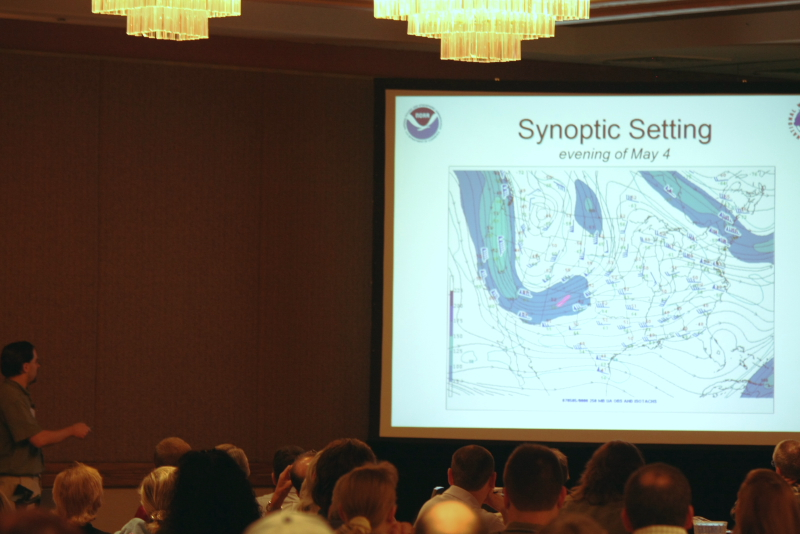 Mike highlights the powerful jet streak & trough that initiated the tornado outbreak.