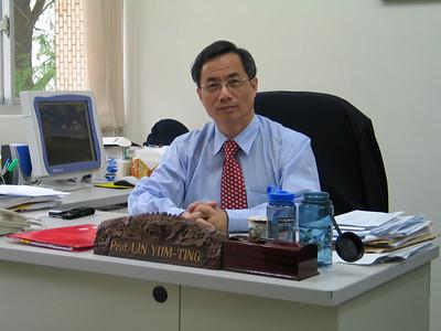 Professor Yum-Ting Lin - Dean of Academic Affairs