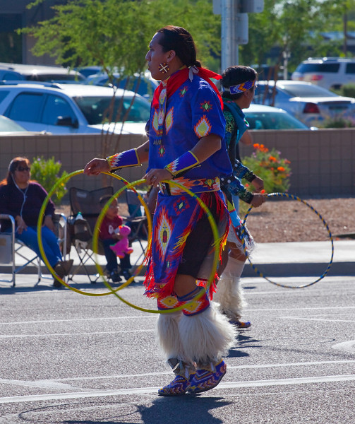 """Tony Duncan is of the Apache and Arikara/Hidatsa nations. He is a well known Hoop Dancer who has been doing his skill for over 20 years. He won his first adult title at the 21st Annual Heard Museum Hoop Dance Championship Contest in Phoenix on February 6, 2011. He has performed twice for the former first lady Laura Bush in Washington D.C.<br /> <br /> Find more performances at  <a href=""""http://www.youtube.com"""">http://www.youtube.com</a> and put in the search for Tony Duncan<br /> <br /> The above information (website) from Phoenix Magazine April 2011 issue. Also from Hoop Dance - Tony Duncan website."""