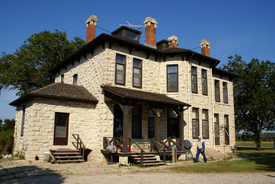Limestone Magnolia Ranch house