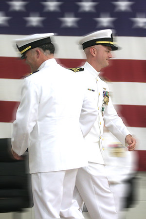 Naval Operational Support Center Change of Command ceremony 12 September 2015, Greensboro, NC