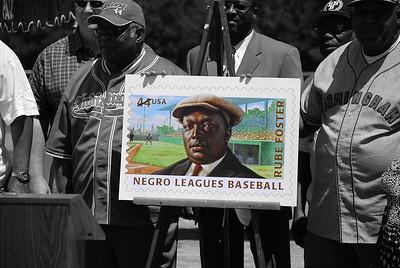 Negro Baseball League - Stamp Unvieling