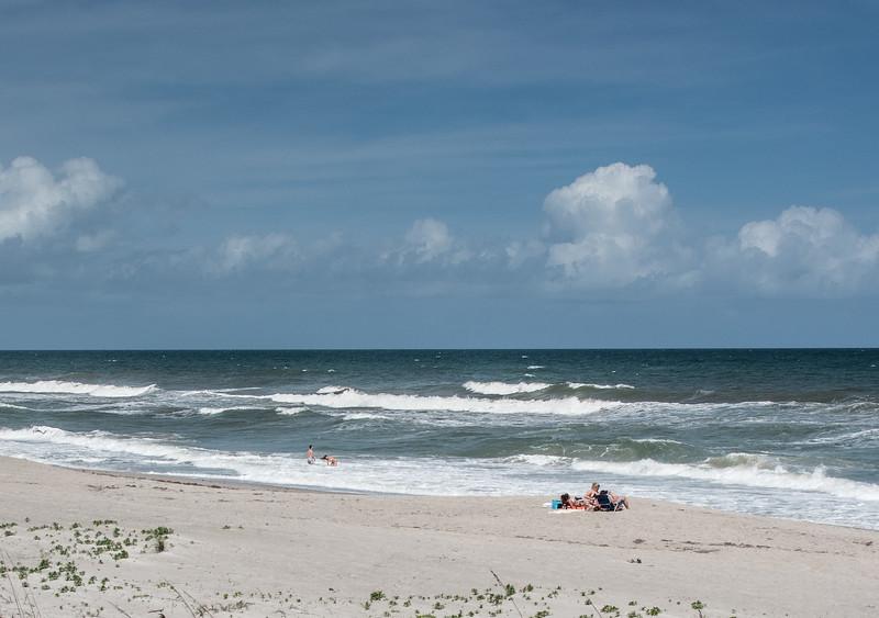 View of the Atlantic Ocean