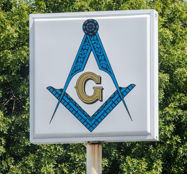 • Location - Indialantic Neighborhood<br /> • Beach Masonic Lodge sign