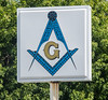 • Location - Indialantic Neighborhood<br /> • Beach Masonic Lodge sign