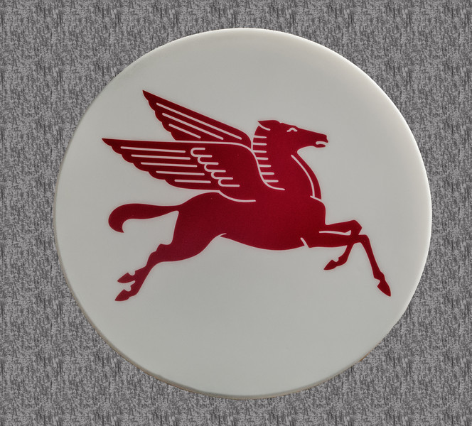 • Location - Indialantic Neighborhood<br /> • I saw this Pegasus symbol on the side of Mobil gas station