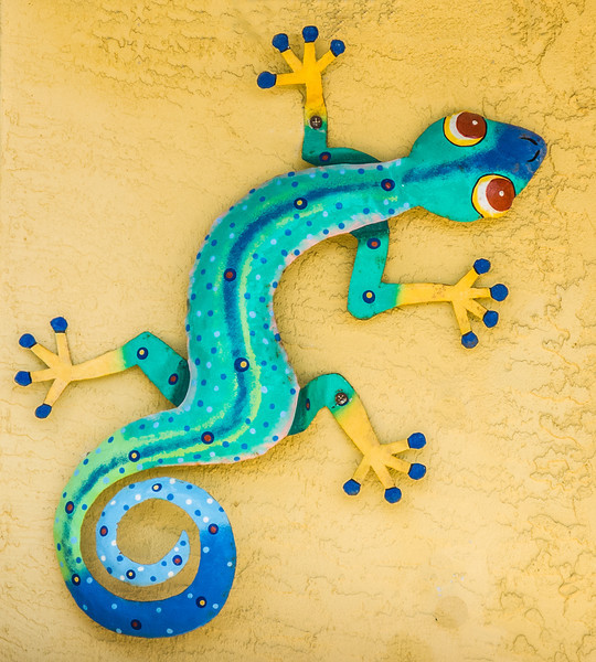 Lizard House Ornament