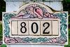 • Location - Melbourne Beach<br /> • Colorful Ceramic Street Address
