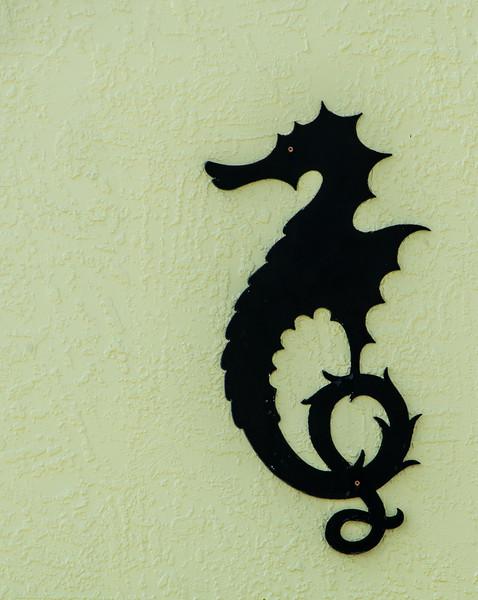 Seahorse House Ornament