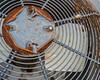 Rusty airconditioner unit