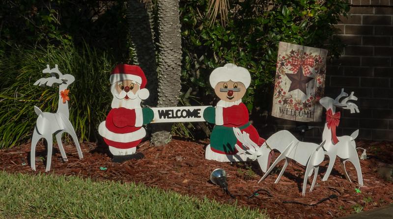 Mr and Mrs Santa Claus