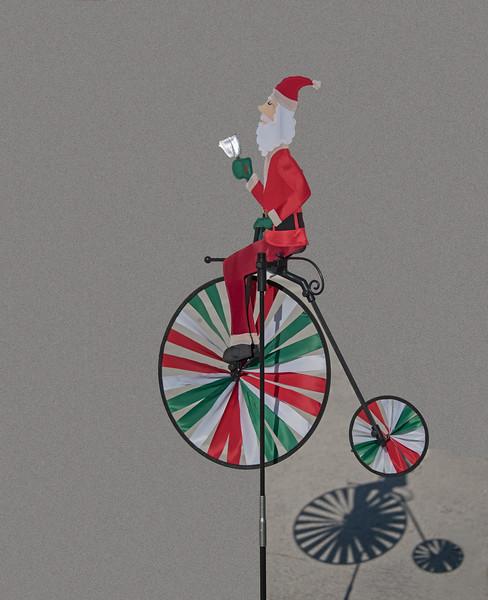 Santa Claus' Colored Wind Wheel