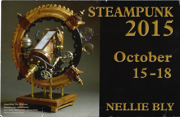 Nellie Bly SteamPunk 2015