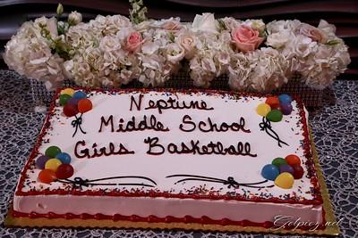 Neptune Middle School Girls Basket Ball Babquet April 21 2017