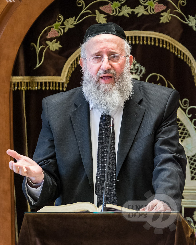 Khal Ahavas Yisroel Tzemach Tzedek and Kol Torah Yarchei Kallah, Harav <br /> Dovid Rosenbaum