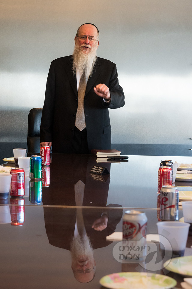 Lunch and Learn in Downtown Baltimore, Harav Calmen Weinreb