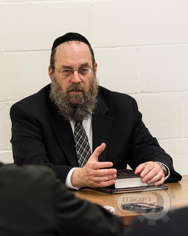 Khal Ahavas Yisroel Tzemach Tzedek and Kol Torah Yarchei Kallah, Harav Tzvi Berkowitz