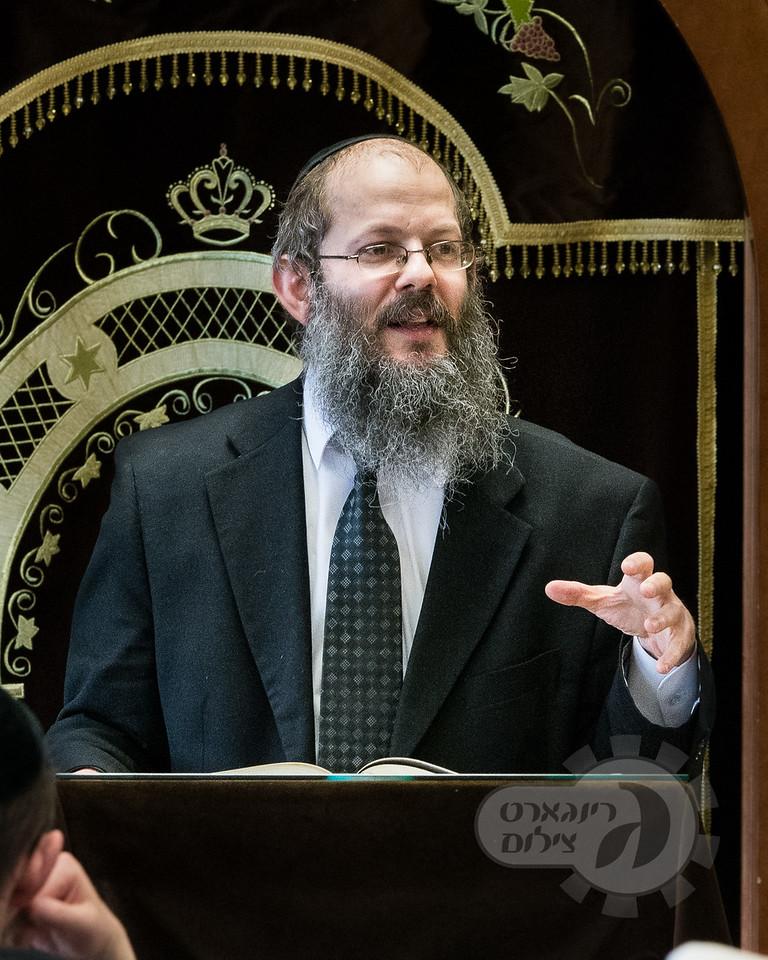 Khal Ahavas Yisroel Tzemach Tzedek and Kol Torah Yarchei Kallah, Harav Tzvi Einstadter
