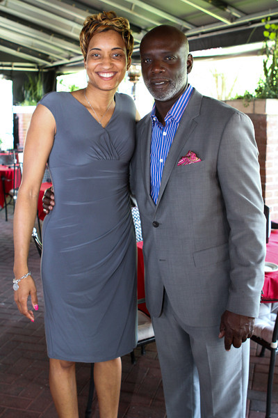 Networking Lunch with Peter Thomas sponsored by V101.9FM at Sullivan's Restuarant, Charlotte NC.