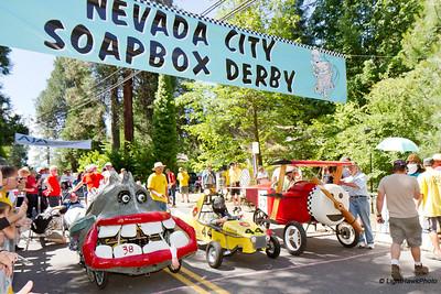 Nevada City Soap Box Derby