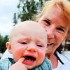 Suzette and Little Man ~ and Little Man's New Teeth