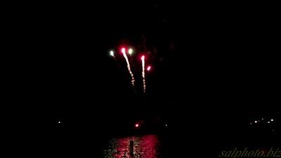 New London Water Days Fireworks Show
