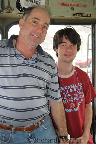 David and his cousin, our tour guide.