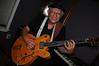 Bobby Lonero and his fabulous custom Gibson guitar.