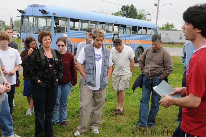 David's cousin explaining the course of events that took place just before Katrina hit.