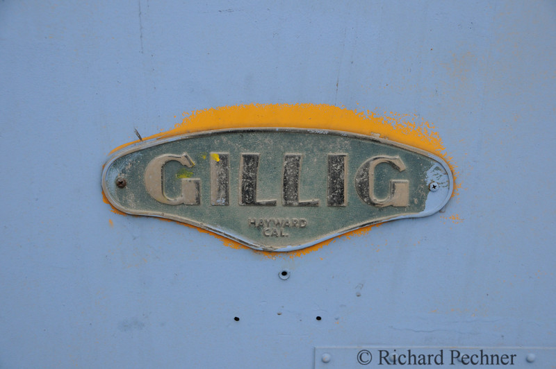 Gilig bus logo.  Notice the tell tale yellow paint from our buses previous service as a school bus.