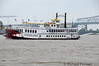 """The """"Creole Queen"""" on the mighty Mississippi River."""