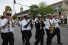 Storyville Stompers marching in the Easter Day Parade.