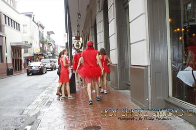 New Orleans Red Dress Run 2012