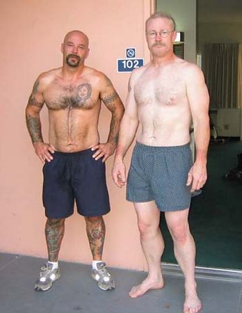 "Studs ""R"" Us... Warren & Pat after their Morning Run - Palm Springs"
