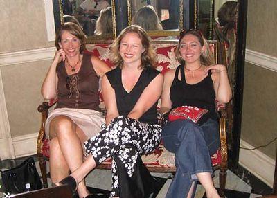 Maureen, Jen, Joanna