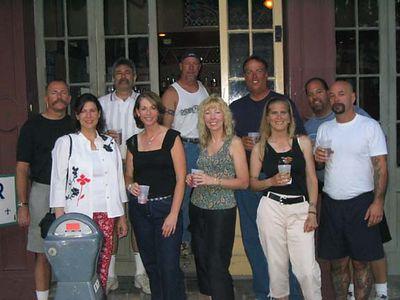 Mike, Sandy, Pat, Maureen, Tony, Arlene, Bob, Lori, Gino, Warren