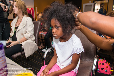 Behind the scenes, New Orleans Fashion Week Kids Day
