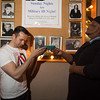 "Host and last year's Local Talent competition winner, Kiry Shabazz, presenting this year's 1st place winner, T.J. Kelsall with his award.<br /> <br /> Photo by Geoffrey Smith II | <a href=""http://www.geoffreysmithphotography.com"">http://www.geoffreysmithphotography.com</a>"
