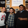 "New Local Talent Competition performers.<br /> Left to right: T.J. Kelsall (1st place winner), Kabir Singh (headlining performer for the night), and Kiry Shabazz (host and last year's winner of the competition)<br /> <br /> Photo by Geoffrey Smith II | <a href=""http://www.geoffreysmithphotography.com"">http://www.geoffreysmithphotography.com</a>"